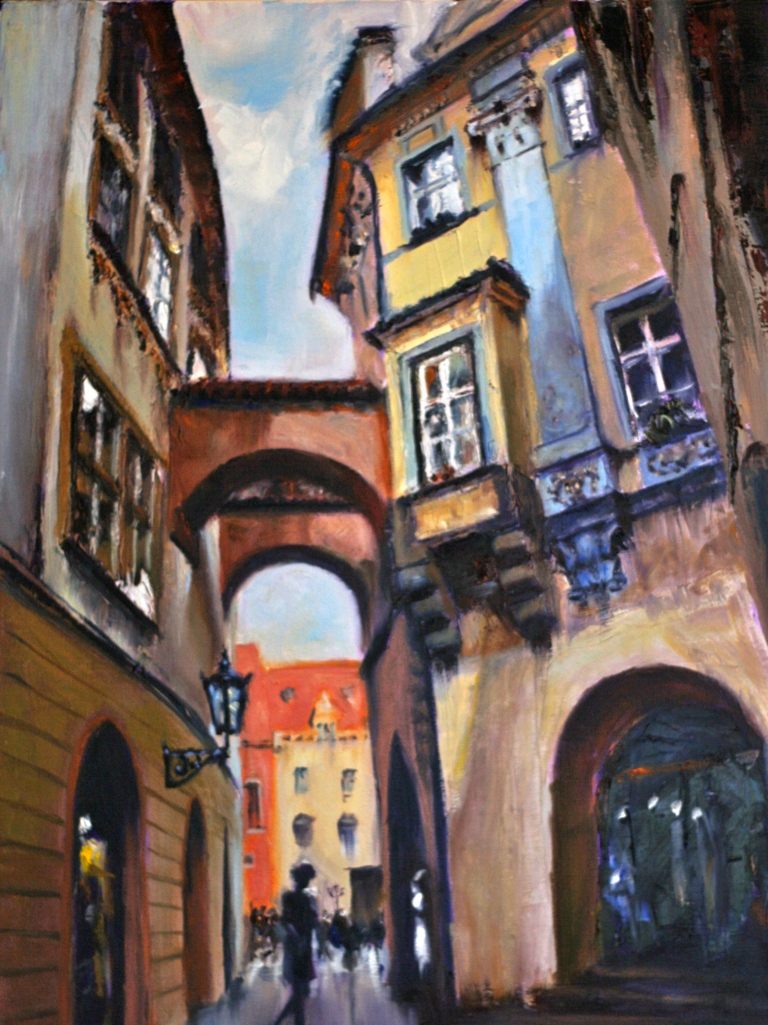 Entrance to Old Town Square, Prague