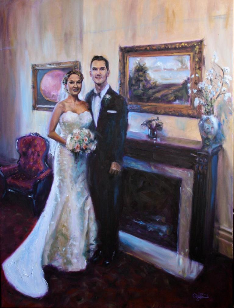 Kristen Ames and Duncan Clegg, A Wedding Portrait