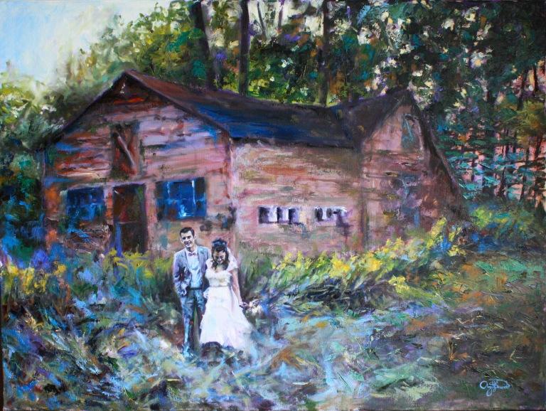 Hannele and Robin: An Autumn Wedding